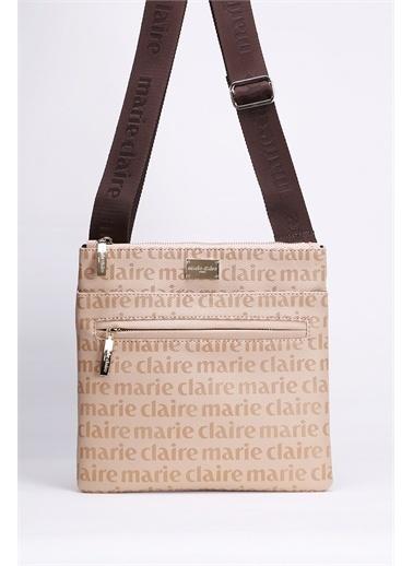 Marie Claire Postacı Çantası Bej